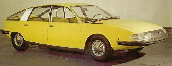 1967 Pininfarina BMC 1800
