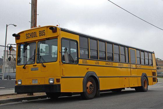 Gillig Phantom School_Bus_LAUSD