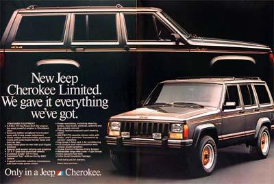 jeep cherokee ltd