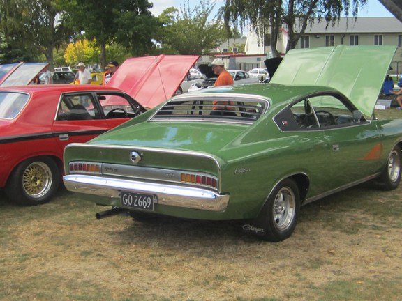 Chrysler AUS Charger rear
