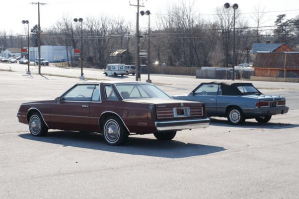 Chrysler Cordoba rear