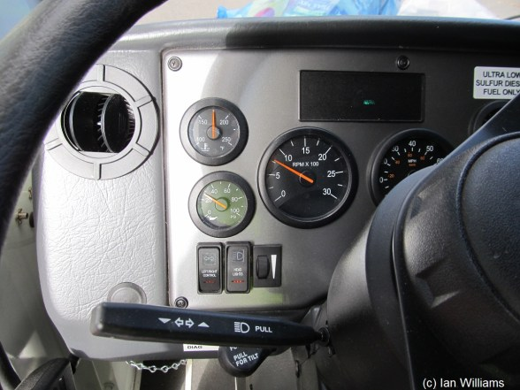 TTSD F4 Drivers Left Dash Detail Small