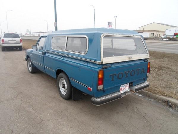 1982 Toyota pickup diesel rear