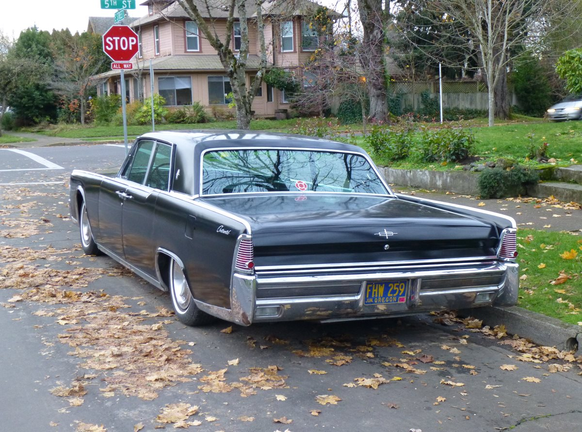 curbside classic 1965 lincoln continental the last great american luxury car. Black Bedroom Furniture Sets. Home Design Ideas