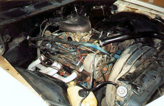 1978 Chevrolet Camaro Z28 Engine