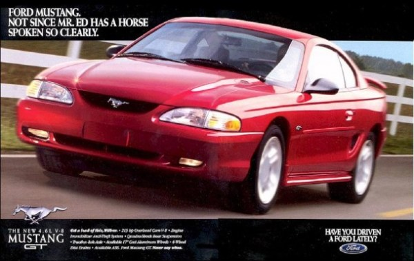 1996 Ford Mustang Ad