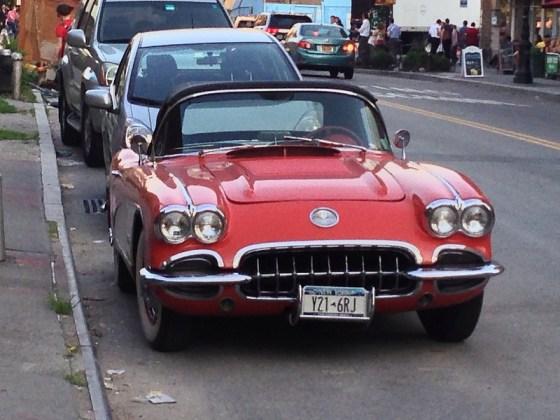 Corvette in NYC f