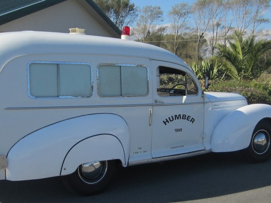 Humber 1949 amb s
