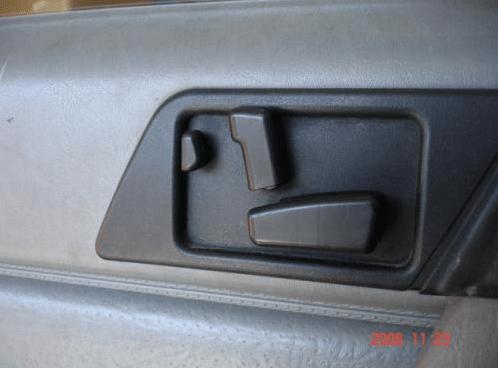 Mercedes W124 seat controller