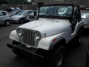 1973 AMC Jeep Wrangler - Oldest trade-in this week that wasn't a rebuilt muscle car.