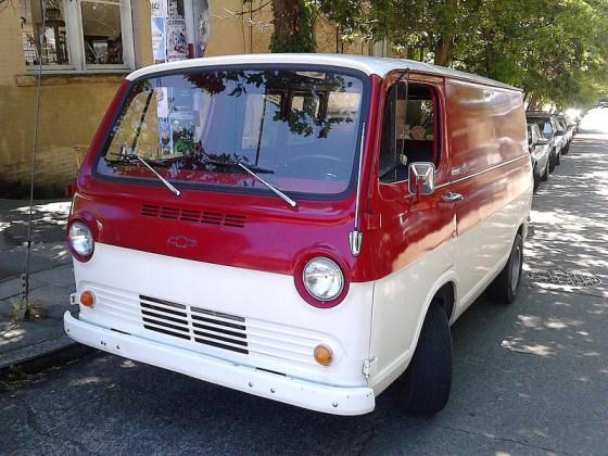 Chevrolet van 1965 f