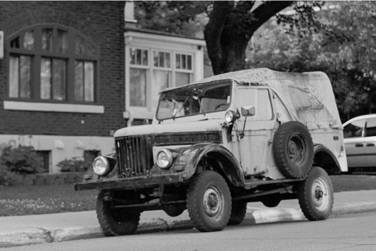Russian Military truck