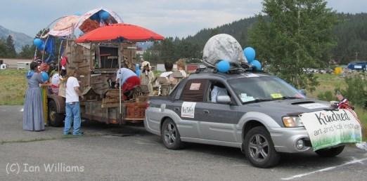 Subaru Baja Float