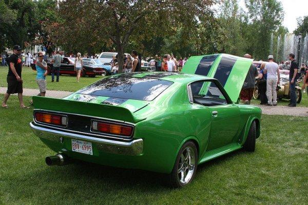 1973 Toyota Corona Mark II rear