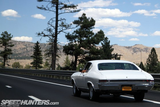 Chevelle on highway