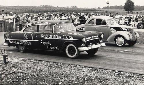 Chevrolet 1955 drag racer