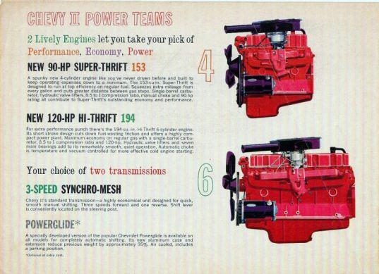 Chevrolet Chevy II 1962 engines-10