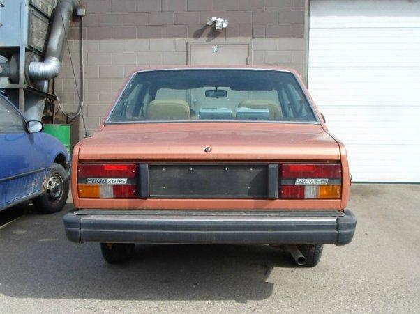 Fiat Brava rear