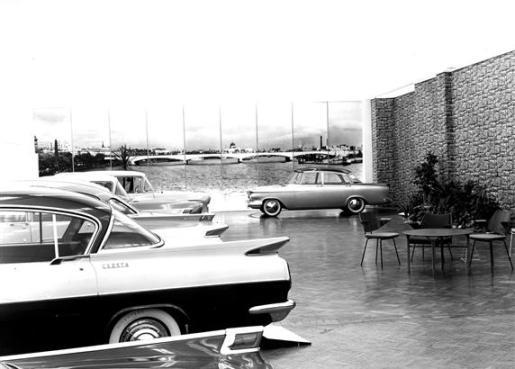 Vauxhall design Studio 1957