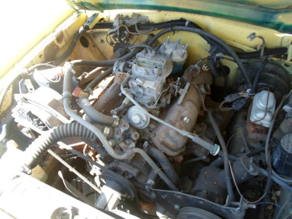 1978 Ford Pinto V6 engine