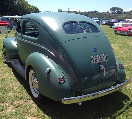 10. 1940 Ford Tudor V8
