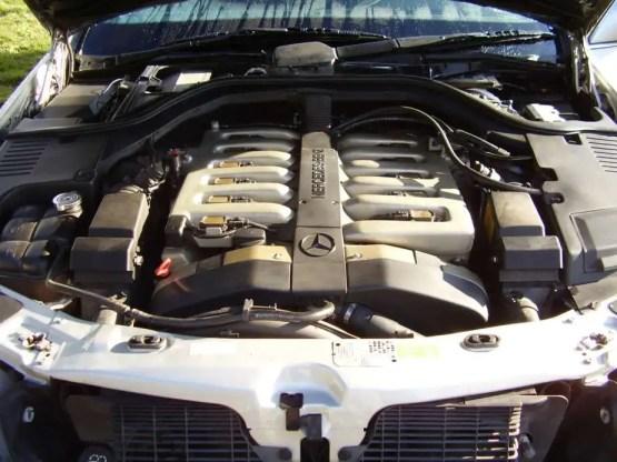 Mercedes 1996 S600 eng