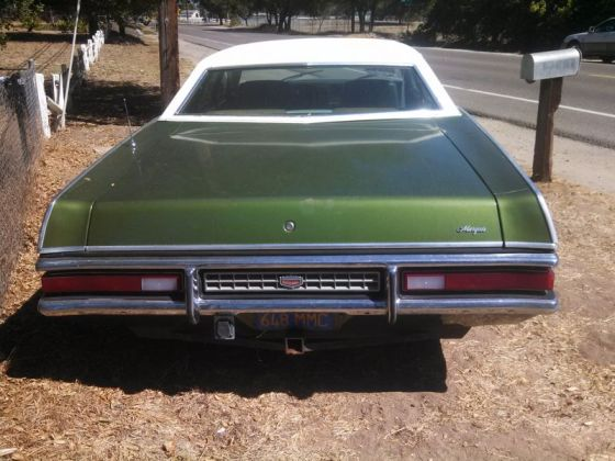 Mercury 1972 Marquis r