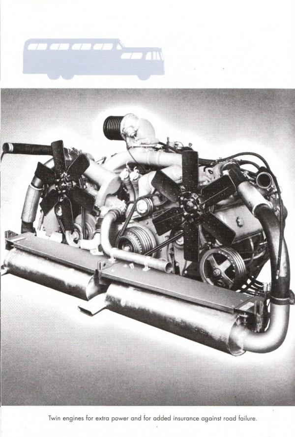 Scenicruiser engines