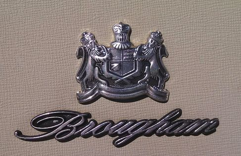 brougham badge