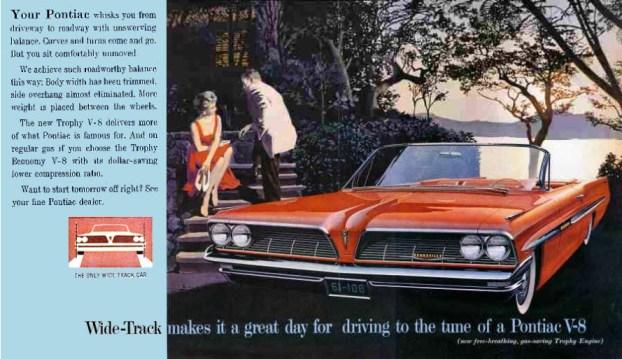 1961 Pontiac Bonneville Ad