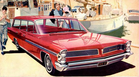 Pontiac 1963 Bonnevile Safari