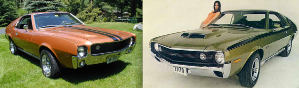 1969 AMX pictured at left