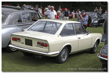 Fiat 124 Sport Coupe AC 1968