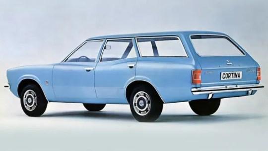 Ford UK Cortina Mk3 estate