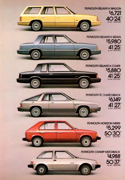 Plymouth Champ 1981 ad