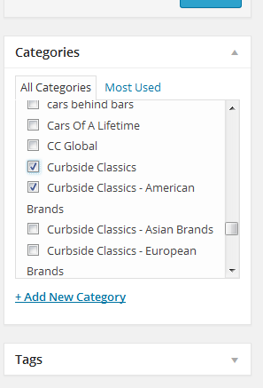 WG categories