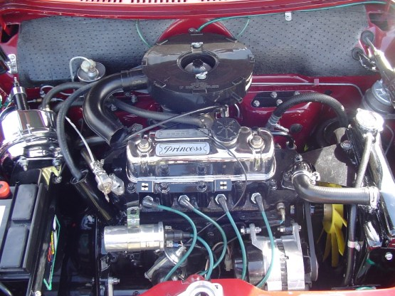 ADO16 engine bay