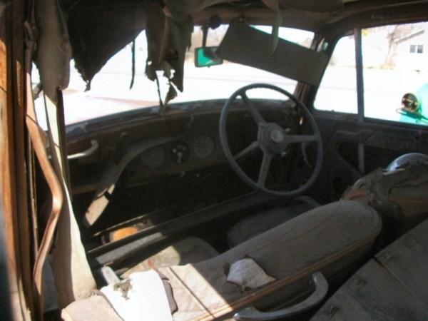 Bentley Mk VI interior