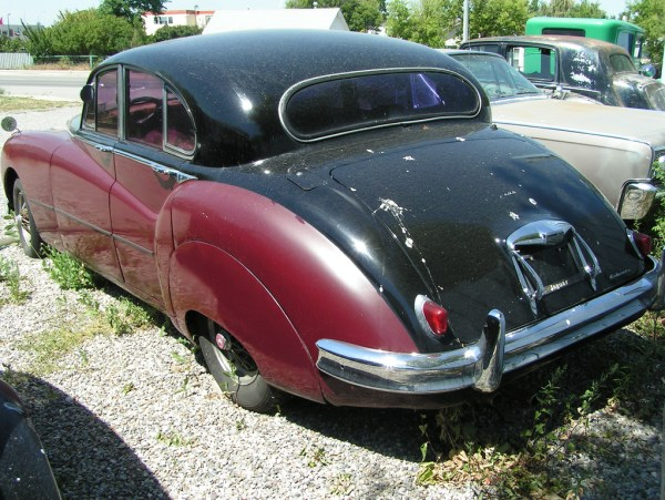 Jaguar rear