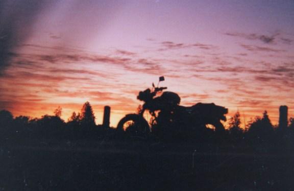 Nighthawk 450 at Dawn