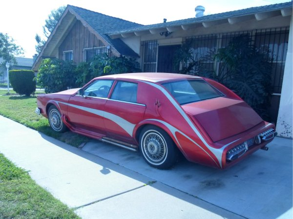 Cadillac Seville custom rear