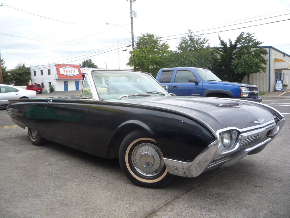 Curbside classic 1961 ford thunderbird convertible the for Classic american convertibles
