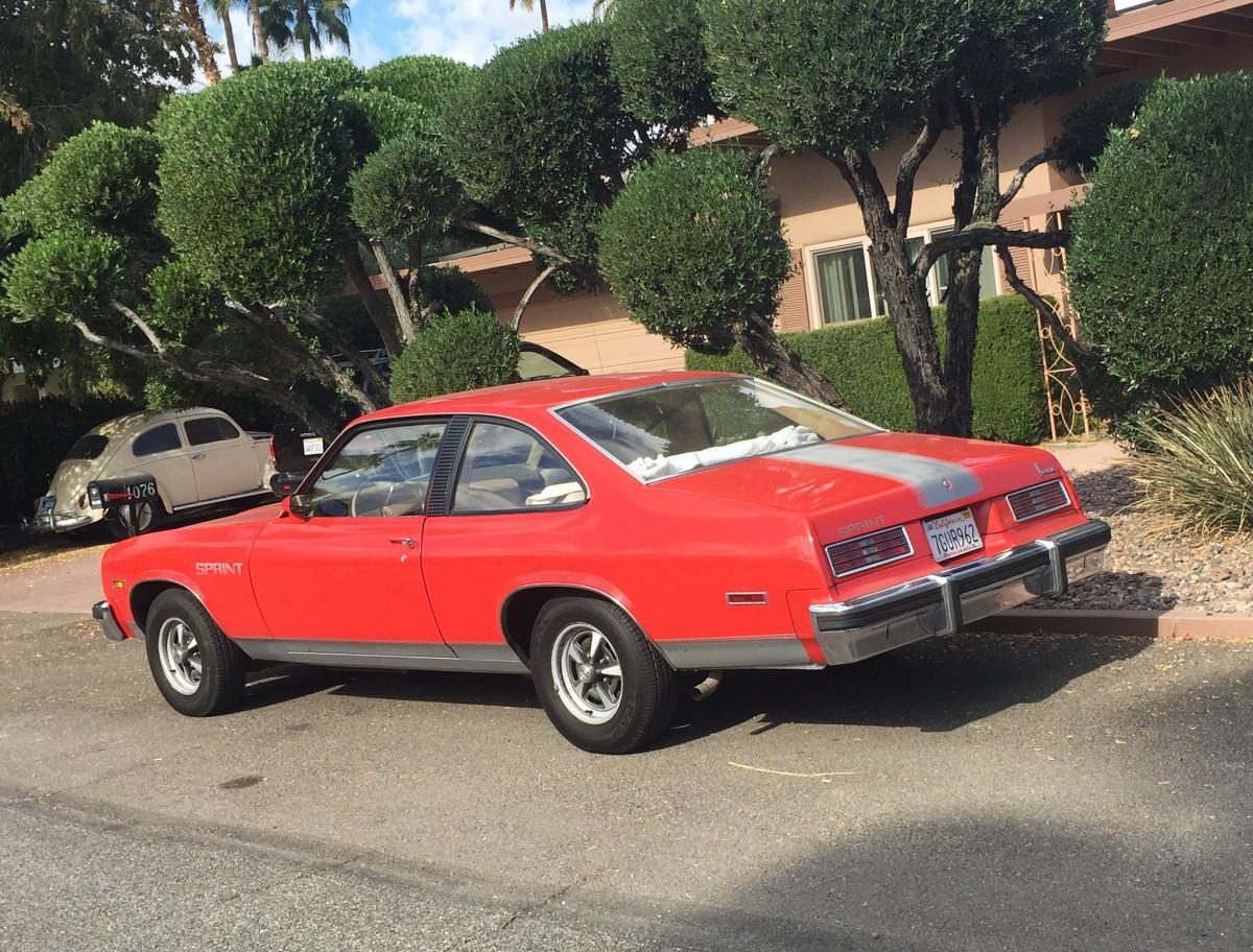 Chevy Wheels For Sale Cohort Outtake: 1975 Pontiac Ventura Sprint – A Sprint In ...