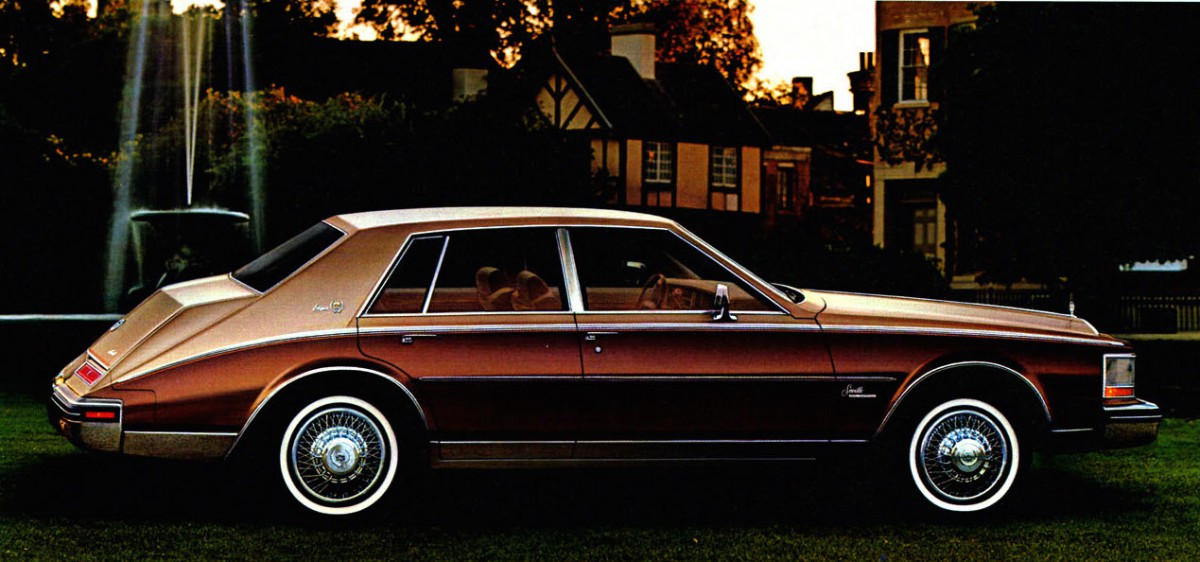 curbside classic 1980 85 cadillac seville how to lose momentum in more ways than one. Black Bedroom Furniture Sets. Home Design Ideas