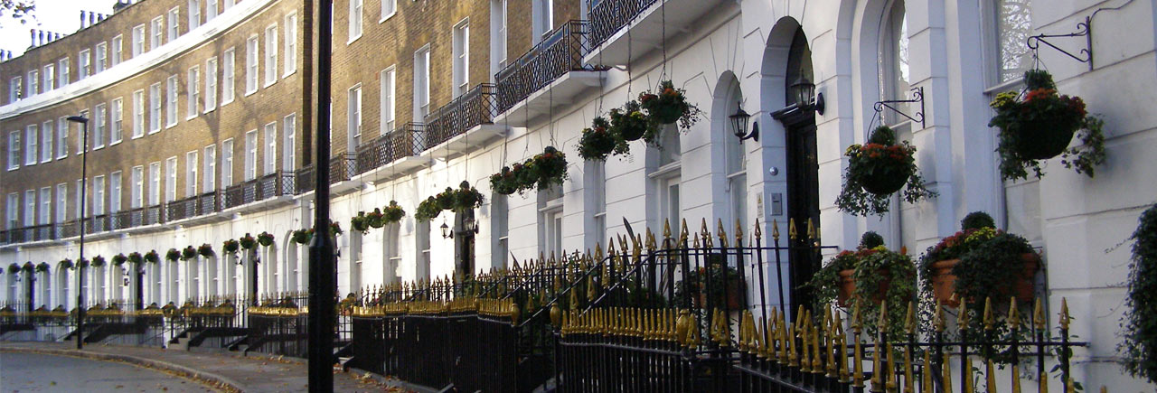Georgian terrace property in London