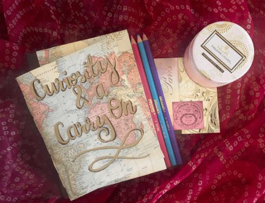 customized travel journal