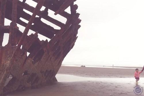 Shipwreck beach in oregon - west coast roadtrip