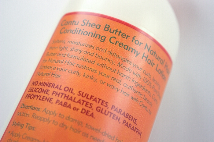 Cantu Shea Butter Conditioning Creamy Hair Lotion Review (5)