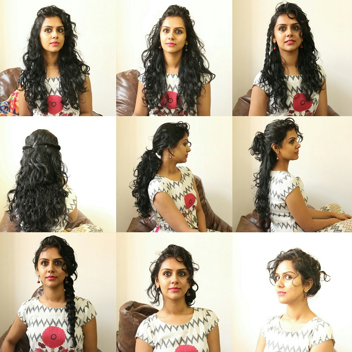 11 Easy Everyday Hairstyles For Curly Hair Curlsandbeautydiary