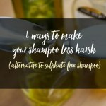 4 Ways to Make Your Shampoo Less Harsh – The Best Alternative To Sulphate Free Shampoos